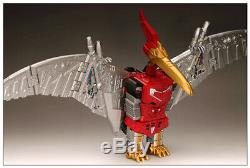 New Transformers TOY GP HQ-05 Gaudenter G1 Swoop Red Metallic Ver instock