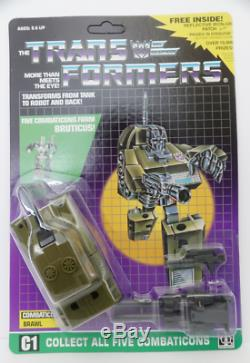 New arrivial Transformers G1 Reissue Bruticus Combaticons Carded ver. Metal ver