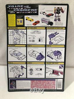 New arrivial Transformers G1 Reissue Menasor Carded ver. Metal ver. Brand new