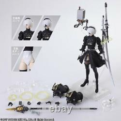 Official Nier Automata 2b Yorha Type B No. 2 Ver 2.0 Bring Arts Figure New Sealed