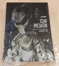 Open Hot Toys 1/6 AVP Alien vs Predator Scar Predator Ver. 2.0 MMS190