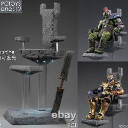 PCTOYS 1/12 King's Thrones Weapon Set Deluxe Ver. For Thanos Action Figures