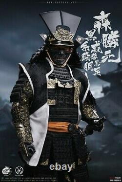 POPTOYS 1/6 EX030B Japanese Warrior Mori Katsumoto Samurai Deluxe Ver