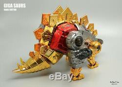 Pre-order Transformers Gigapower GP HQ-03R HQ03R Dinobot Snarl Chrome Ver