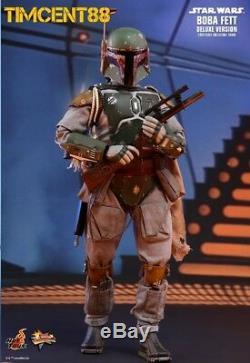 Ready! Hot Toys MMS464 Star Wars V The Empire Strikes Back Boba Fett Deluxe Ver