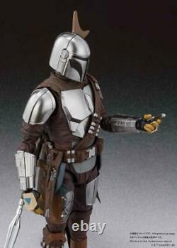 S. H. Figuarts Star Wars Mandalorian Beskar Metal Armor Ver. BANDAI IN STOCK USA