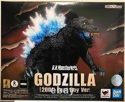 S. H. MonsterArts Godzilla 2001 Heat Ray Ver Action Figure Bandai Tamashii Nations