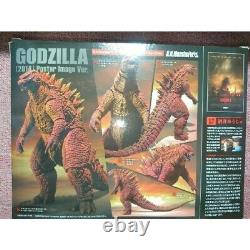 S. H. MonsterArts Godzilla LTD Box 2014 Poster image ver Action Figure Bandai 17cm
