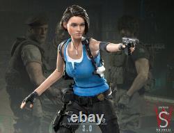 SWTOYS 1/6 Jill Valentine 3.0 Resident Evil Normal Ver. Seamless Body Figure
