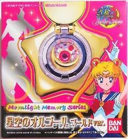 Sailor Moon Star Locket Music Box Gold ver. Moonlight Memory series new