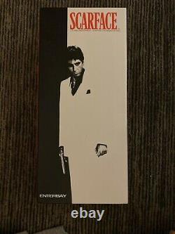 Scarface Tony Montana 1/6 Figure ENTERBAY Al Pacino RESPECT VERS Rare