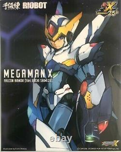 Sentinel Riobot Megaman X Falcon Armor Ver. Eiichi Simizu Action Figure NEW