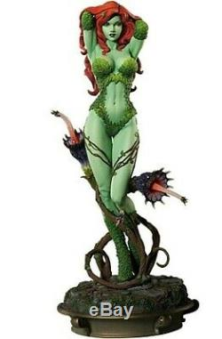Sideshow POISON IVY Premium Format Statue DC 14 Green Ver Expedited Shipping