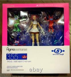 Space Channel 5 Series Ulala Exciting white Ver. Figma Action Figure sega