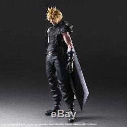Square Enix Final Fantasy VII Remake PLAY ARTS Kai Cloud Strife Ver. 2 JAPAN PSL