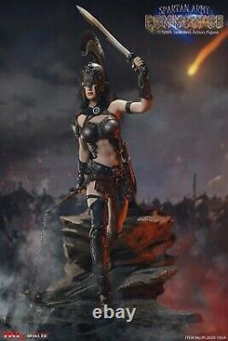 TBLeague Phicen Seamless Body Spartan Army Commander Black Armour Ver 1/6 FIGURE