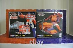 Takara Masterpiece MP09, 10,13, 36, 43 & 44 Ver. 3 Convoy, Megatron BW, Soundwave