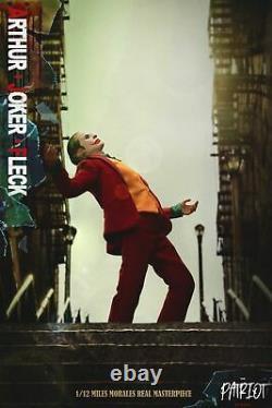 The Patriot Studio 1/12 The Joker Arthur Fleck 6 Action Figure Deluxe Ver