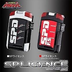 Tokusou Sentai Dekaranger SP license & SP license (Fire Squad ver.) SPD set USED
