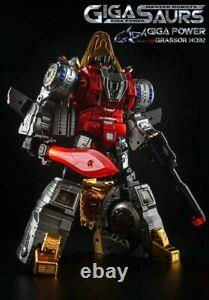 Transformable Toy Gigapower GP HQ-02R HQ 02R Grassor Slag Chrome Ver. (1)