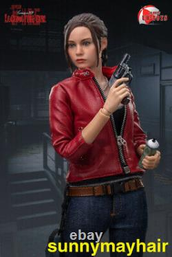 UB-TOYS 1/6 Claire Redfield Red Suit Ver. Female Action Figure Collection Doll