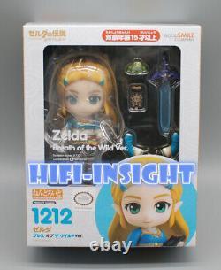 USA Authentic Good Smile Nendoroid Princess Zelda Breath of the Wild Ver