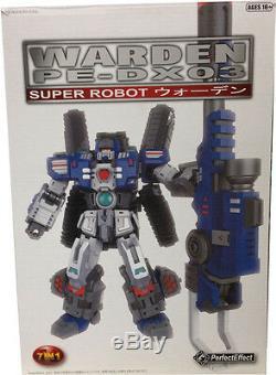 W. HMISB Transformers Perfect Effect PE-DX03 Warden (Fortress Maximus Vers)