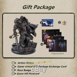 WOW Warcraft Arthas Menethil Statue Lich King Limited Ver. Official Resin Model