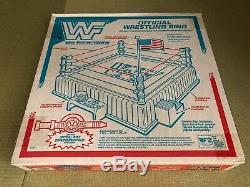 WWF Hasbro Official Wrestling Ring For Hasbro Figure 1990 US Ver. Unused FedEx